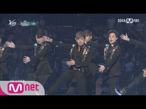 SHINHWA(신화) -  'T.O.P' M COUNTDOWN - FEELZ in LA 150813 EP.437 (видео)