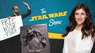 In this installment of The Star Wars Show, we talk with Mayim Bialik of The Big Bang Theory and Blossom, pull back the curtain on a new Star Wars pinball machine, show off the coolest Star Wars stuff in the halls of Lucasfilm, and more!Watch more of The Star Wars Show at https://www.youtube.com/playlist?list=PL148kCvXk8pBjG-JOhlIU6rWzLyA2O2anVisit Star Wars at http://www.starwars.comSubscribe to Star Wars on YouTube at http://www.youtube.com/starwarsLike Star Wars on Facebook at http://www.facebook.com/starwarsFollow Star Wars on Twitter at http://www.twitter.com/starwarsFollow Star Wars on Instagram at http://www.instagram.com/starwarsFollow Star Wars on Tumblr at http://starwars.tumblr.com/