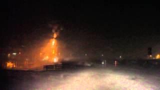 Noodweer bij Harlingen