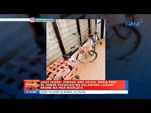 UB: Agot Isidro, pinuna ang social media post ni Jinkee Pacquiao ng dalawang luxury brand na...