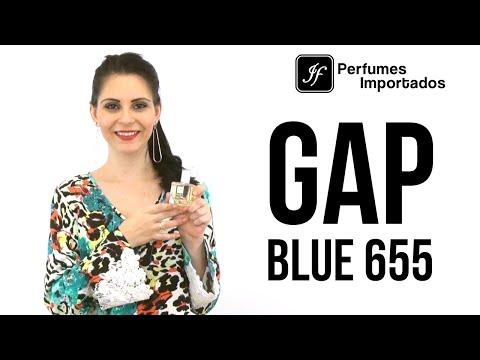 Perfume GAP Blue 655 Feminino - Eau de Toilette