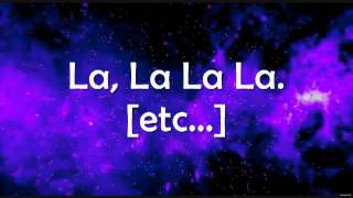 LMFAO - La La La (Letra - Lyrics)