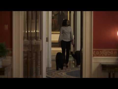 Michelle Obama takes her last walk through WhiteHouse
