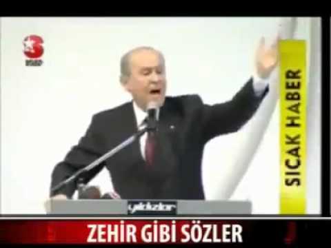 Devlet Bahceli Bozkurt 2010 Zehir Gibi Sözleri Cok sert