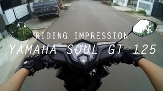 Video #RIDINGIMPRESSION YAMAHA SOUL GT 125 | MOTOVLOG | ENGLISH SUBTITLE MP3, 3GP, MP4, WEBM, AVI, FLV Februari 2018