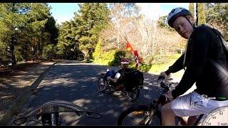 Aldgate Australia  city photos : Aldgate To Crafers South Australia - Recumbent Trike Ride