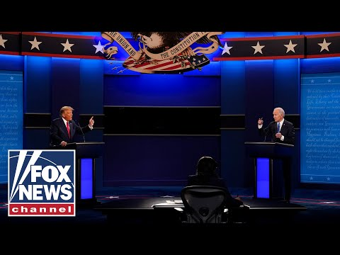 Trump, Biden debate in final face-off of 2020 presidential election | Full