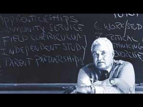 Гатто: Школьное обучение - это не образование (видео)