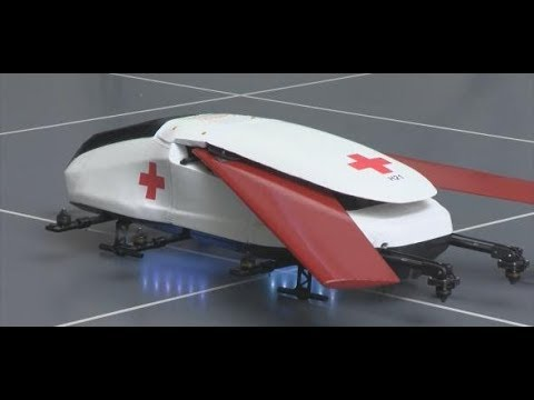 Hilfe aus der Luft: Diese Drohne könnte schon bald Leben retten