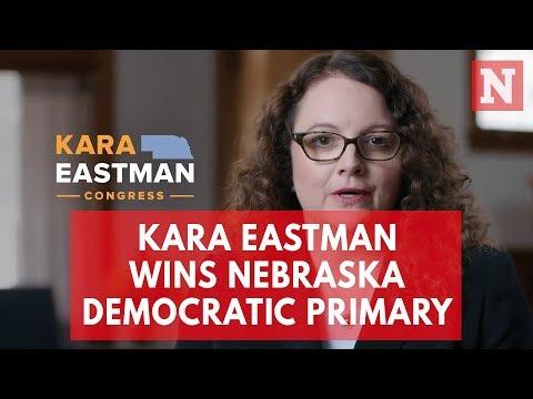 Kara Eastman Wins Nebraska Democratic Primary
