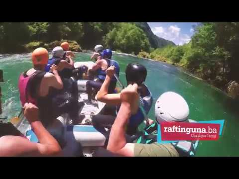 Crew from Holland experiencing the trill of rafting