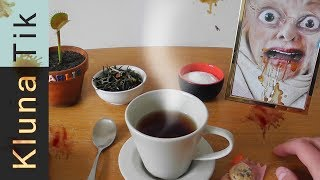 TEA with my GRANDMA!!! Kluna Tik Dinner #70 | ASMR eating sounds no talk