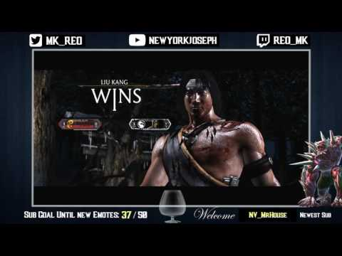 REO (Kitana - Mournful) VS FOREVER_ELITE (Liu Kang - Dualist) Online Set (видео)