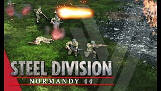 Enjoyed the video? Here's some more! ► https://goo.gl/vHwUWjSteel Division: Normandy 44 Playlist! ► https://goo.gl/uuBRTmYou can now support the channel on Patreon! ► https://www.patreon.com/vulcanhdgaming-----------------------------------------------------------6th Stretched Thin! Steel Division: Normandy 44 Gameplay (Pegasus Bridge, 4v4)-----------------------------------------------------------Hey guys,Wanted to play a larger game so here I am with a 4v4 where I use the 6th Airborne for the first time in a while.Deck Used: 6th AirborneDeck Code: Ix+gIaFCoQGhUp7BoMGg4aCBoSGhEZ8xolGgkqGBn9GfUp+hn/GgQaJin8Ggsb8yntGfIaFinvGgMaIhn4GiMQ==Contact Me!Twitch: http://www.twitch.tv/vulcanhdgamingTwitter: https://twitter.com/vulcanhdgamingFacebook: https://www.facebook.com/vulcanhdgamingSteam: http://steamcommunity.com/groups/vulcanhdgamingPatreon: https://www.patreon.com/vulcanhdgamingPlayer.me: https://player.me/vulcanhdgamingMusic used: End Game by Per Kiilstoftehttps://machinimasound.com/music/end-gameLicensed under Creative Commons Attribution 4.0 International(http://creativecommons.org/licenses/by/4.0/)