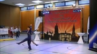 Carolin Steinberger & Tobias Planer - Landesmeisterschaft Rheinland-Pfalz und Saarland 2015
