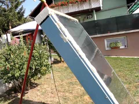 Hot Air Solar Collector