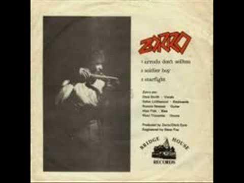 Zorro - Starfight online metal music video by ZORRO