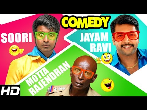 Jayam Ravi – Soori – Rajendran Comedy Scenes | Sakalakala Vallavan Appatakar Tamil Movie | Trisha