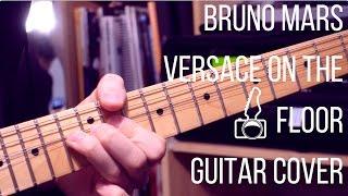 Video Bruno Mars - Versace On The Floor // Guitar Cover download in MP3, 3GP, MP4, WEBM, AVI, FLV Februari 2017