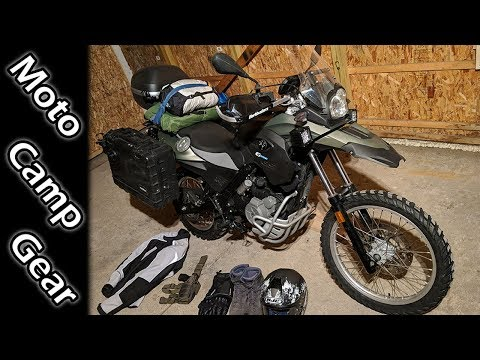 Motorcycle Winter Camp Gear +Upgrades × BMW Sertao
