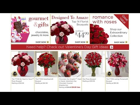Valentine's Day Gift Guide FTD Florist For Valentine
