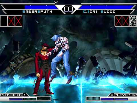 [kof Tm] Ember Emputh,ember Blood Vs Kyo Clone Blood Y Iori Clone Blood