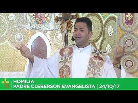 PROGRAMA VINDE A MIM   PADRE CLEBERSON EVANGELISTA   07/10/17