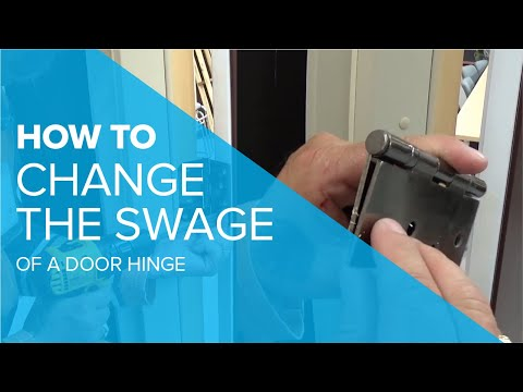 Changing the Swage of a Door Hinge