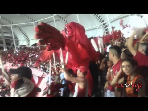 Hace 87 años comenzó este amor - Salida Barón Rojo Sur - América 5 Bogotá FC 0 - Baron Rojo Sur - América de Cáli