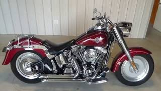 1. 2004 Harley Davidson Fat Boy description