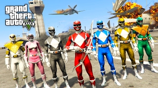 POWER RANGERS!! (GTA 5 Mods)