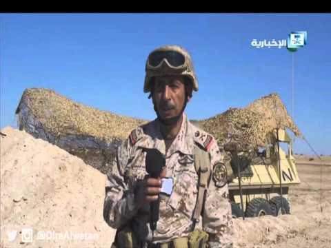 #فيديو ::  انتشار القوات بمسرح عمليات #رعد_الشمال