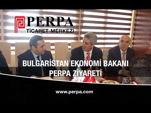 Bulgaristan Ekonomi Bakanı Perpa Ziyareti 01
