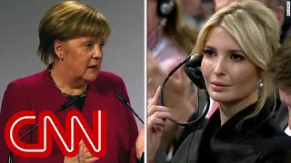 Video Merkel hammers Trump as Ivanka looks on MP3, 3GP, MP4, WEBM, AVI, FLV Maret 2019