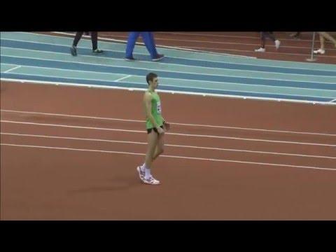 Данил Лысенко 2.22 ( Москва 23-25.02.2016 Чемпионат России в помещении 2016 )
