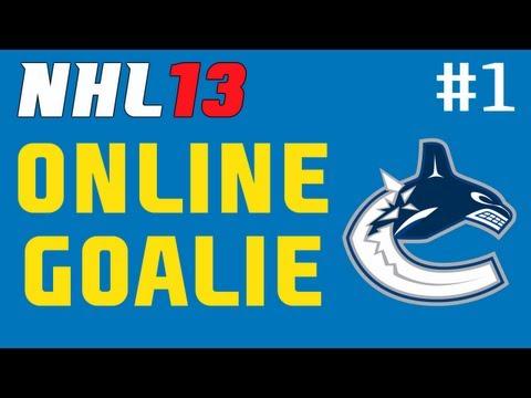 """NHL 13: Online Goalie ep. 1 """"Roberto Luongo"""""""