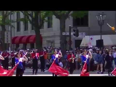 日本大学高等学校・中学校吹奏楽部(第62回ザよこはまパレード:スーパーパレード)