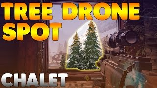 Showing you a Drone Spot on Chalet to see into Library! This spot is pretty useful as it can see half of the room when put in the right place and it is really hard for defenders to find! If you enjoyed the video please leave a like!► Subscribe for more: http://bit.ly/2aGVfde► Music: https://www.youtube.com/user/NoCopyrightSoundsCredit: https://www.youtube.com/channel/UCK2PjA20z21zC-1xz5N-fxQRainbow six siege, glitch, glitches, bugs, how to get out of map, how to glitch, rainbow six glitches, siege glitches, siege glitch, rainbow six wall breach, rainbow six hiding spot, rainbow six siege hiding, rainbow six siege spot, rainbow six spot, chalet glitch, chalet library glitch.