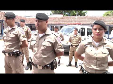 TV Banqueta - JB - Nova Lima ganha reforço no número de soldados da PM - 27/01/2017