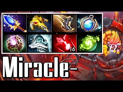 Miracle- Timbersaw 9k MMR - Dota 2 Gameplay