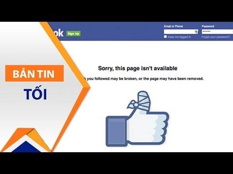 Chủ tài khoản Facebook triệu like bị khóa nói gì? | VTC - Thời lượng: 4 phút, 41 giây.