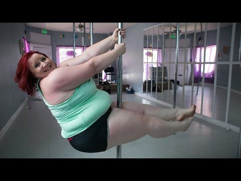 dancer - Subscribe for more: http://smarturl.it/CatersNews World's Heaviest Pole Dancer Is Twice The Size Of Other Women But Hasn't Let That Stop Her Competing In Pole Dancing Competitions She...