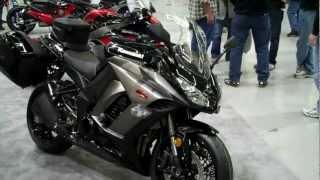 8. Motorcycle walk around of 2012 Kawasaki Ninja 1000-with hard cases