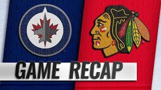Scheifele scores twice to lead Jets to OT victory by NHL