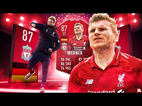 THE LIVERPOOL TIMO WERNER! THE BEST LIVERPOOL TRANSFER SQUAD! FIFA 19 ULTIMATE TEAM