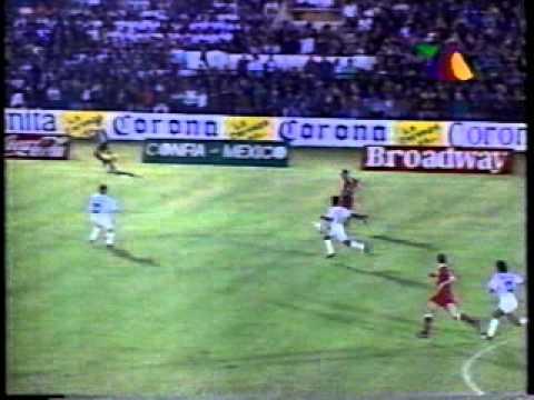 TOROS CELAYA - Resumen del programa DeporTv de Tv Azteca 1995, Sabado18 de Noviembre de 1995, Celaya, Guanajuato, Estadio Miguel A. Valdez, Atletico Celaya vs Toros Neza, M...