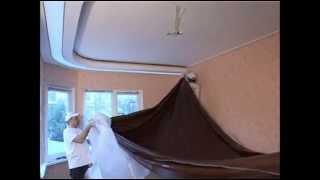 Сложный многоуровневый потолок. Секреты монтажа сложных натяжных потолков.