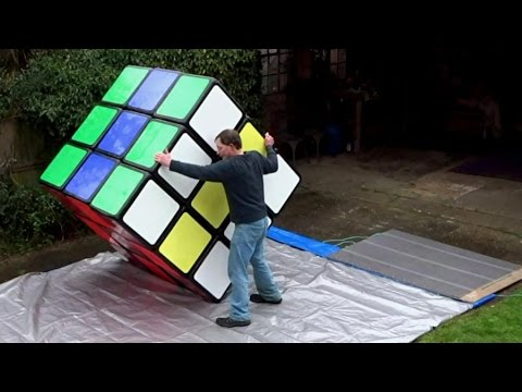 A Gigantic Fully Functional Rubik  s Cube