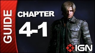 Resident Evil 6: Leon Kennedy Campaign Walkthrough - Chapter 4 pt 1