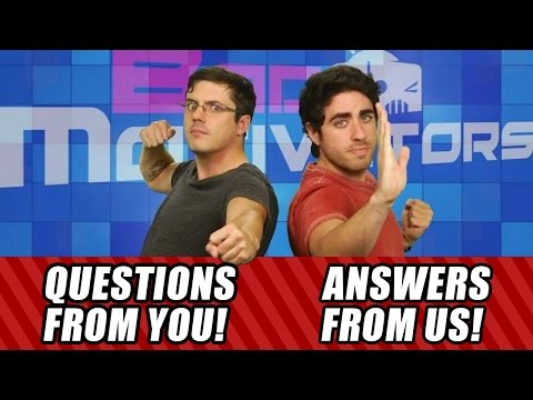 answers - You asked a bunch of questions! We give a bunch of answers! Bad Motivators Q&A! FOLLOW JOVENSHIRE ON TWITTER: http://bit.ly/13JGY1E LIKE JOVENSHIRE ON FACEBOOK: http://on.fb.me/Zkn0XM Leo...